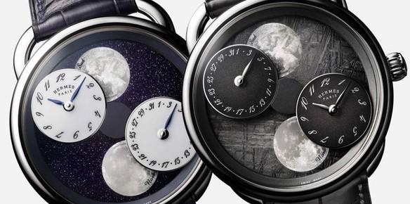 La montre Arceau d'Hermès